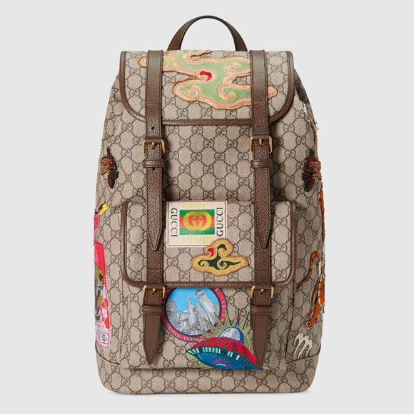 c36c314beaa Gucci Courrier soft GG Supreme backpack